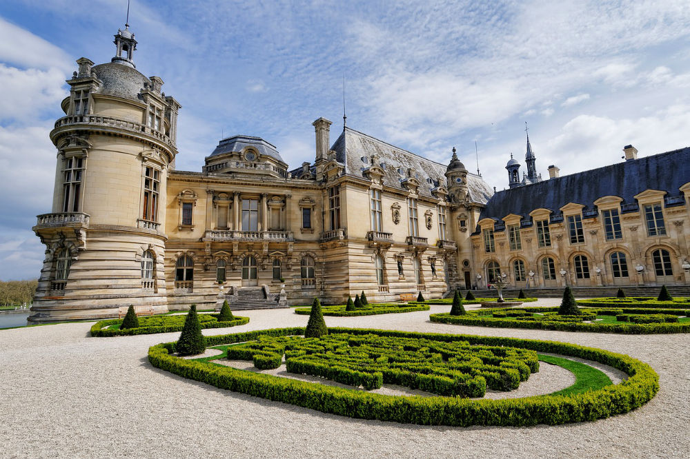 le château de chantilly hauts de france